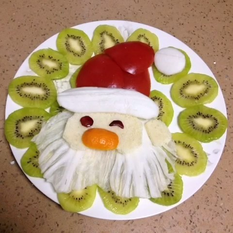 水果拼盘--哈哈圣诞月