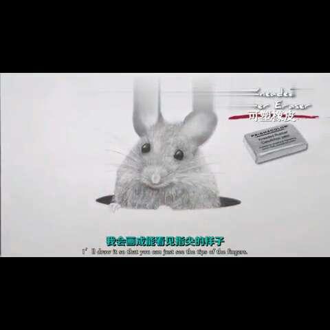 素描##小老鼠##手绘铅笔画##周三#看大神如何用铅笔画老鼠,是本命的