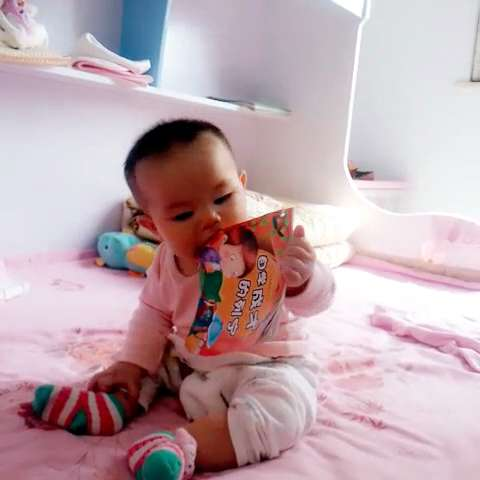 陈岑读书的孩子最可爱